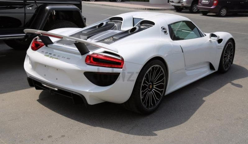 Porsche 918 Spider 2015 0KM full