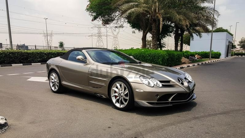 Mercedes-Benz SLR McLaren Roadster 2009 full
