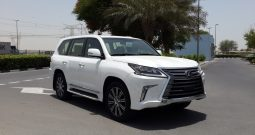Lexus LX570 FULL OPTION PRODUCTION PLATE 2017