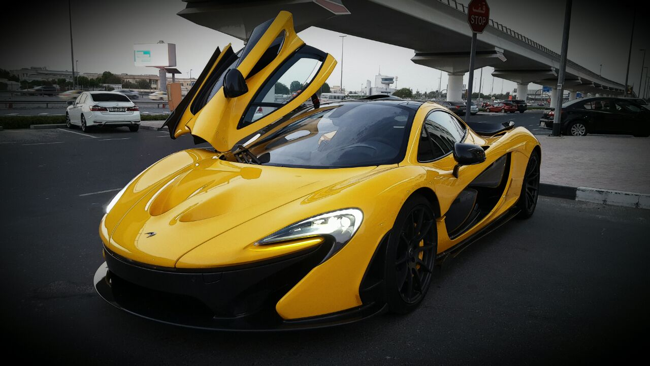 Mclaren P1 Mso Formula Motors Llc Dubai