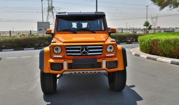 Mercedes Benz G500 4×4 2017 0KM GCC full