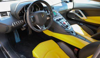 Lamborghini Aventador LP700-4 50th anniversary 2013 GCC yellow matte full