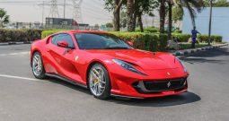 Ferrari 812 SUPERFAST 2018 0KM BRAND NEW