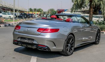 Mercedes Benz S63 Convertible Edition 1 of 130 – 2016 GCC full