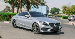 Mercedes Benz C300 COUOPE 2018 GCC