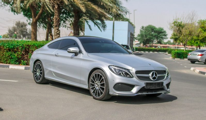 Mercedes Benz C300 COUOPE 2018 GCC full