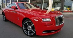 Rolls-Royce Wraith AL ADIYAT MOTIF EDITION (1 OF 9) 2015