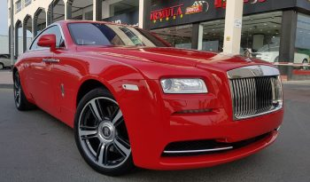 Rolls-Royce Wraith AL ADIYAT MOTIF EDITION (1 OF 9) 2015 full